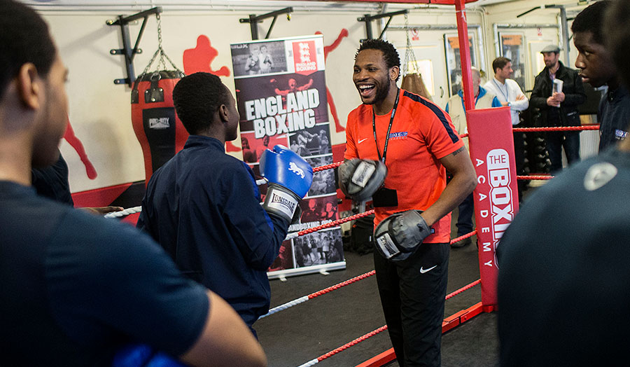 New research by Dr Stephen Hills looks at the positive social impact boxing has
