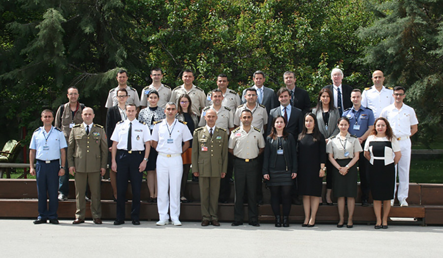 Dr Nick Ridley delivered as part of a global anti-terrorism course at the NATO centre in Turkey.