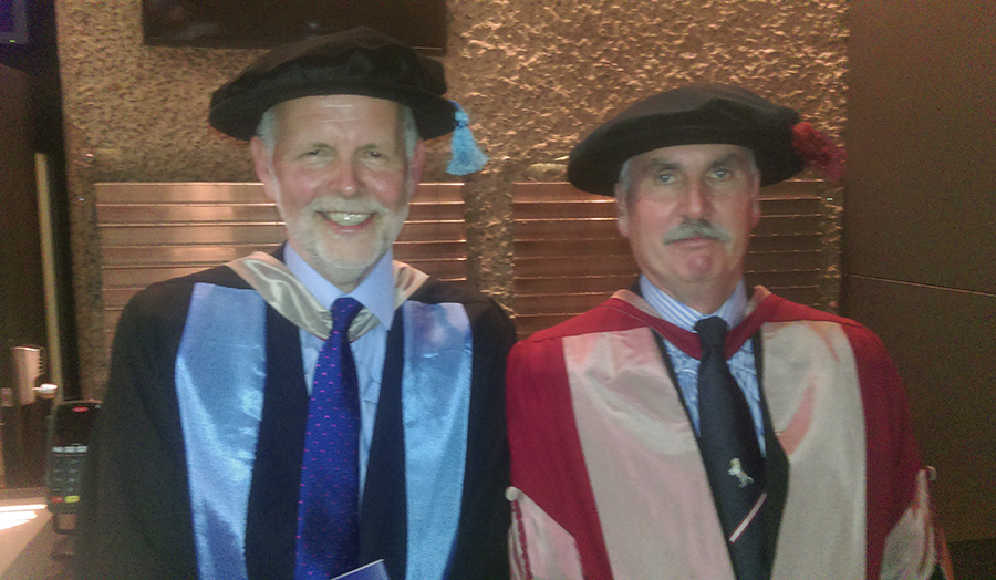 Dr Tim Parsons and Dr Bob Lambert