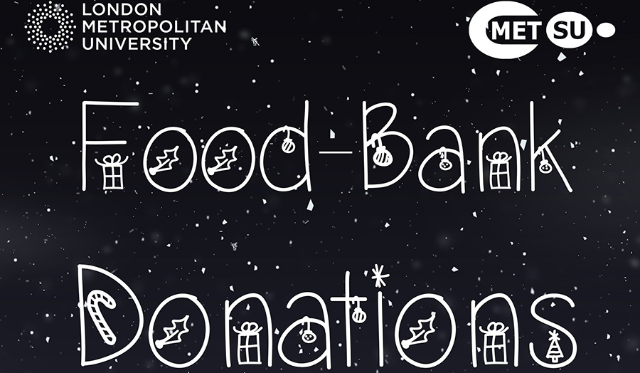 Food Bank Donations poster