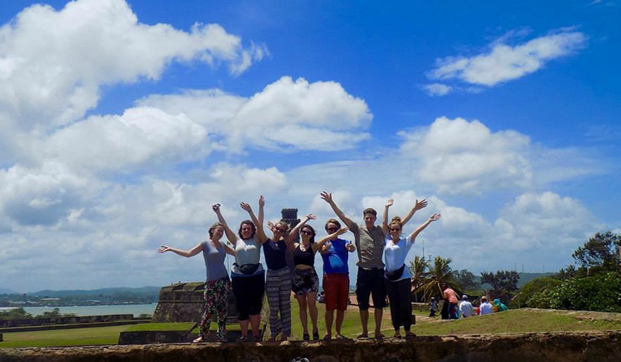 Jemima and Friends jump for joy in Sri Lanka