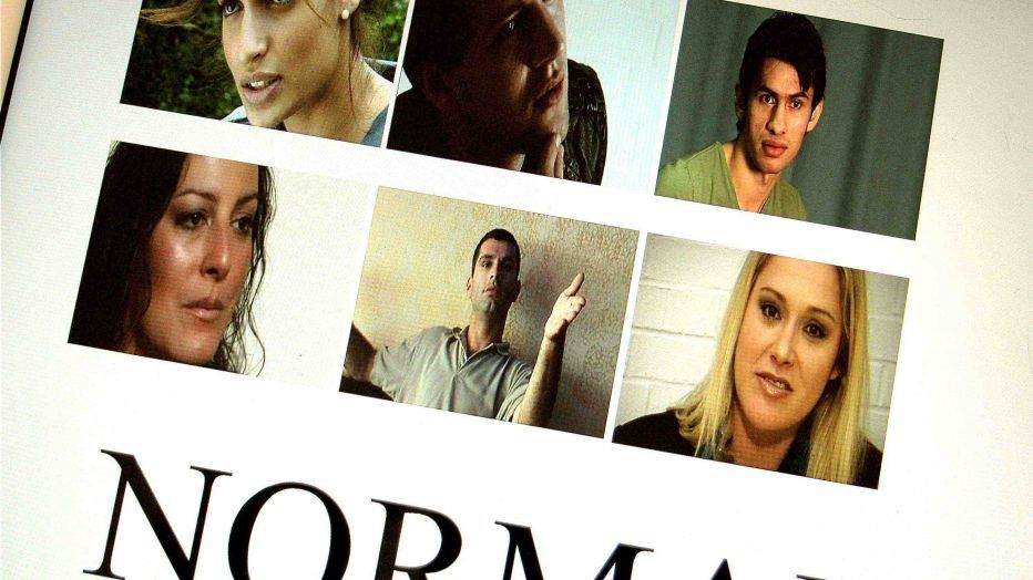 Poster for film Normal by Nick Mai