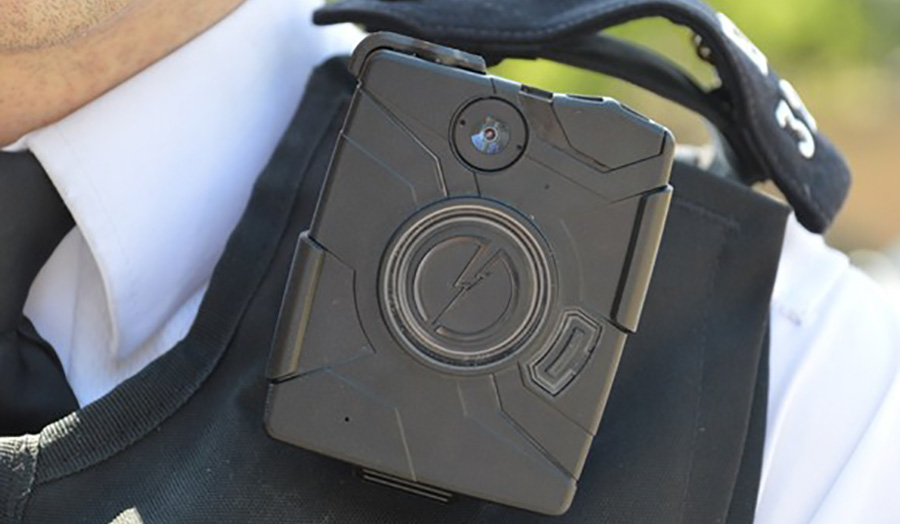 Stock image of the body camera