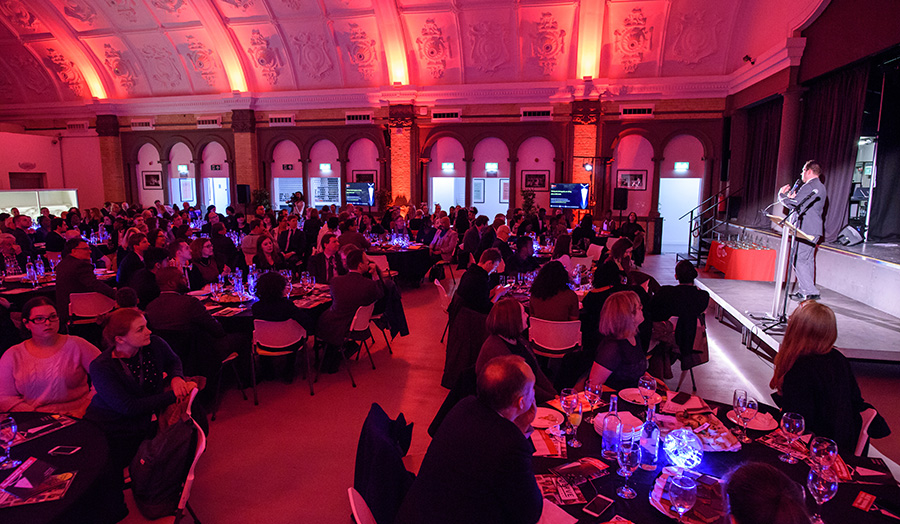 The 2016 SU awards ceremony held in the Great Hall at Holloway