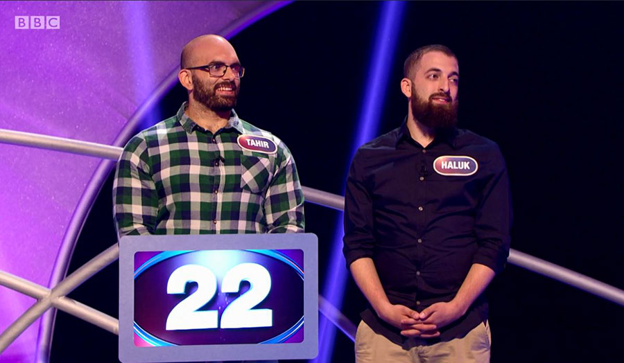 Chemistry student stars on Pointless