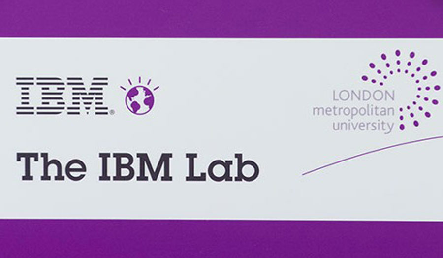 The IMB Lab & London Met official logo