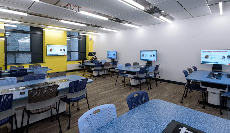 Roding Building first floor collaboration room