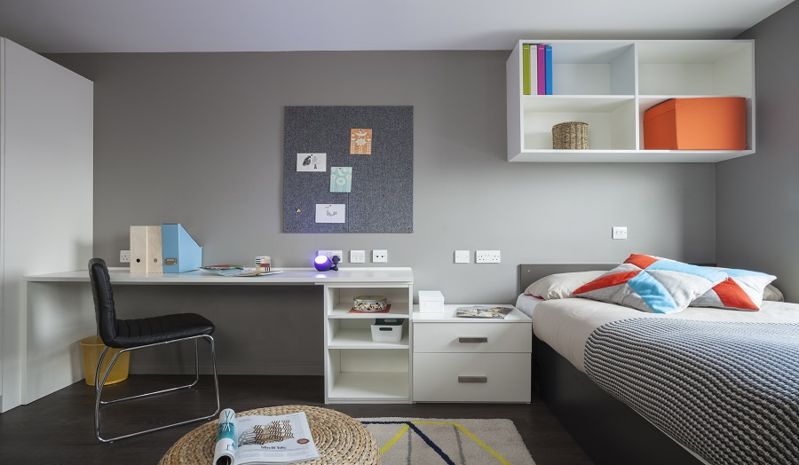 Image of Unite student room in Stapleton House