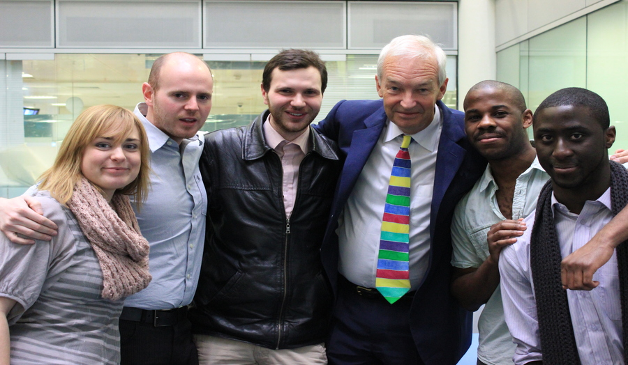 Jon Snow employability event at London Met