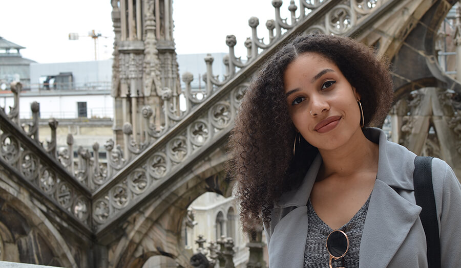 A student from Latin America discusses her experience at London Met