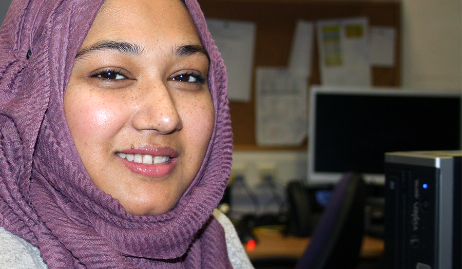 Amira Choudhury, Education BA student