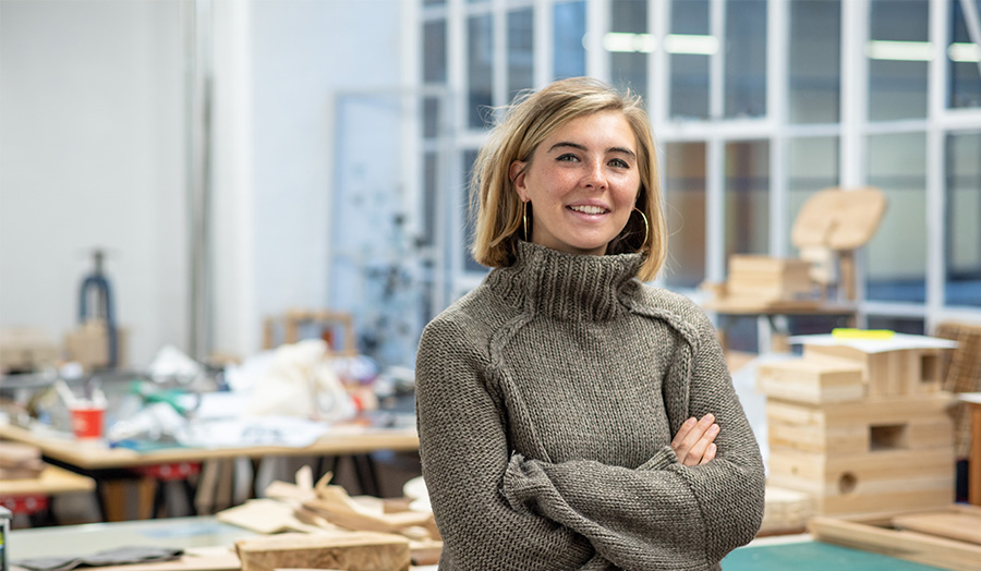 Ella Merriman, Furniture and Product Design BA graduate