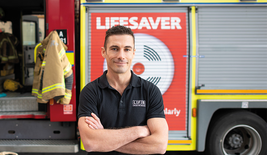 Greg Lessons, firefighter-turned-nutritionist, Human Nutrition MSc graduate
