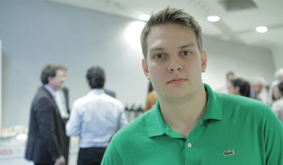 Ilya Ponamarev, Sports Management graduate