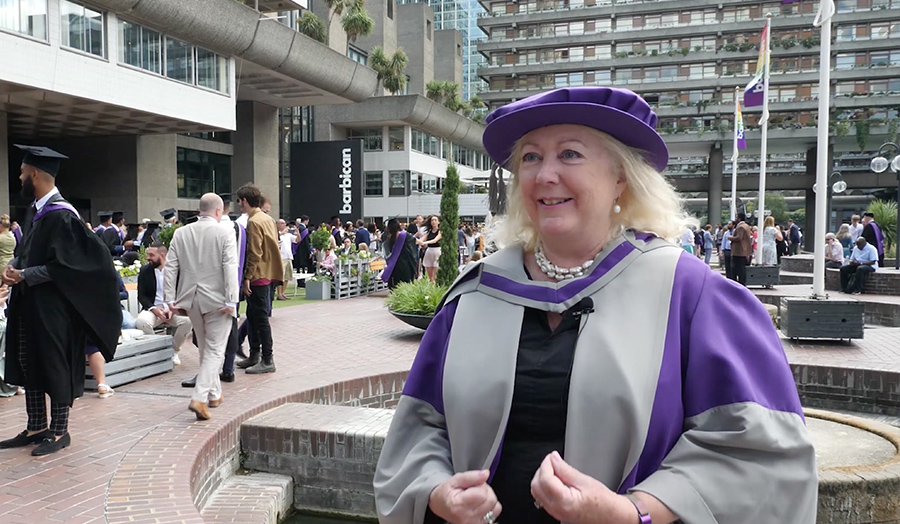 Ann Minogue, Honorary Doctor of Philosophy, Summer 2019, honorary graduate