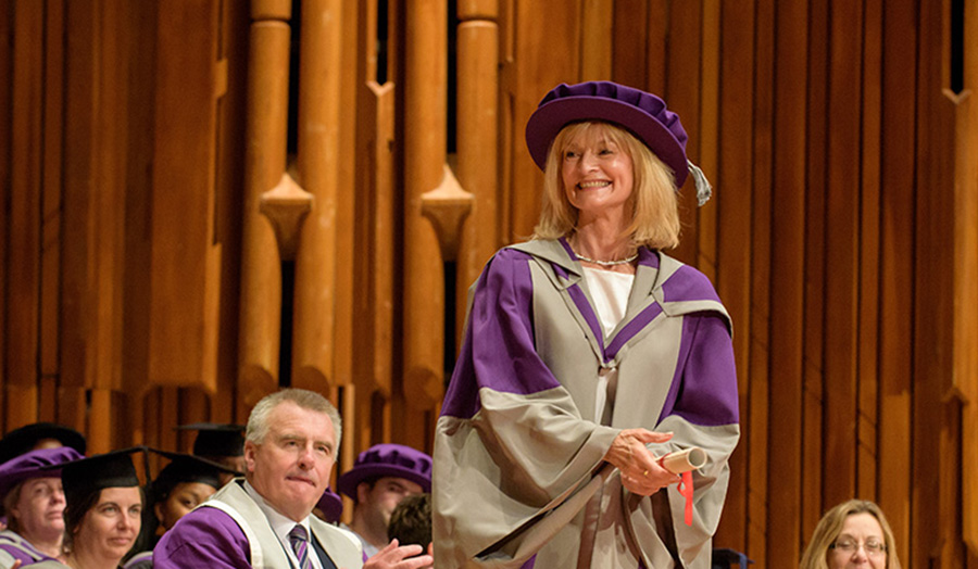 Ann Duke honorary doctor