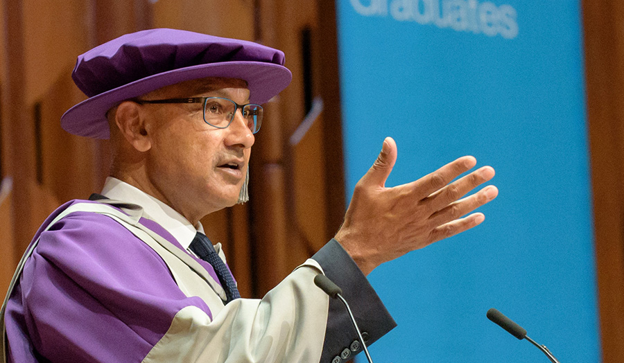 Bharat Mehta OBE, CBE, Honorary graduate, Honorary Doctor of Philosophy, 2017