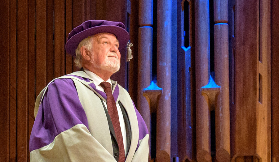 Clive Jones CBE, Honorary Graduate, Honorary Doctor of Letters, Summer 2017