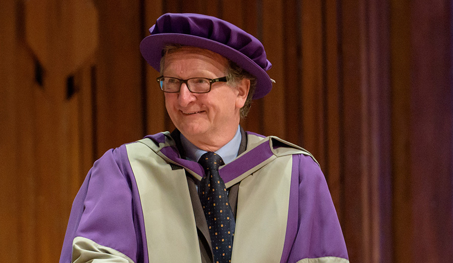 Dr Mike Short, Honorary graduate, Honorary Doctor of Technology, 2017