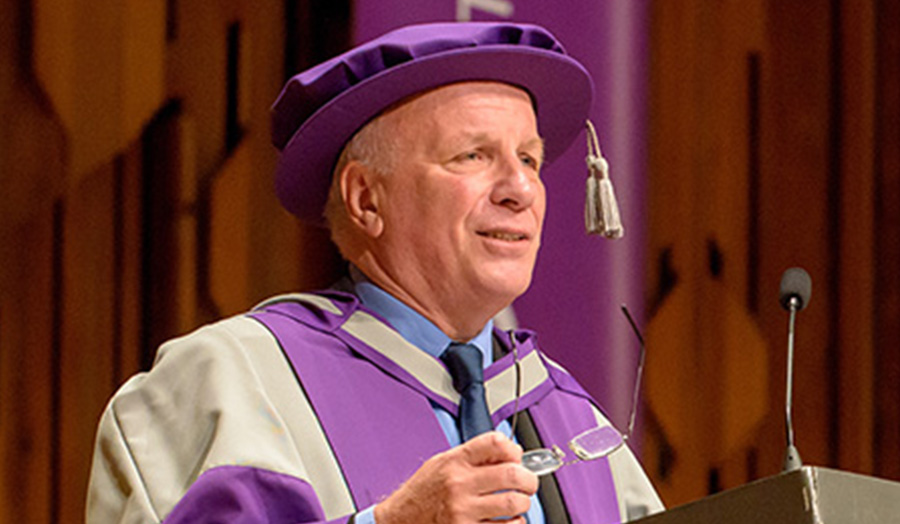 Greg Dyke, Honorary Graduate