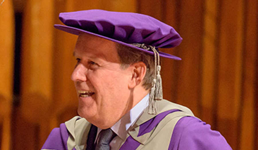 Ian Cook, Honorary Graduate