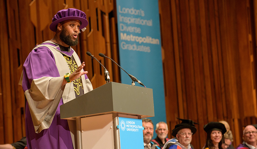 Mahamed Hashi honorary doctor