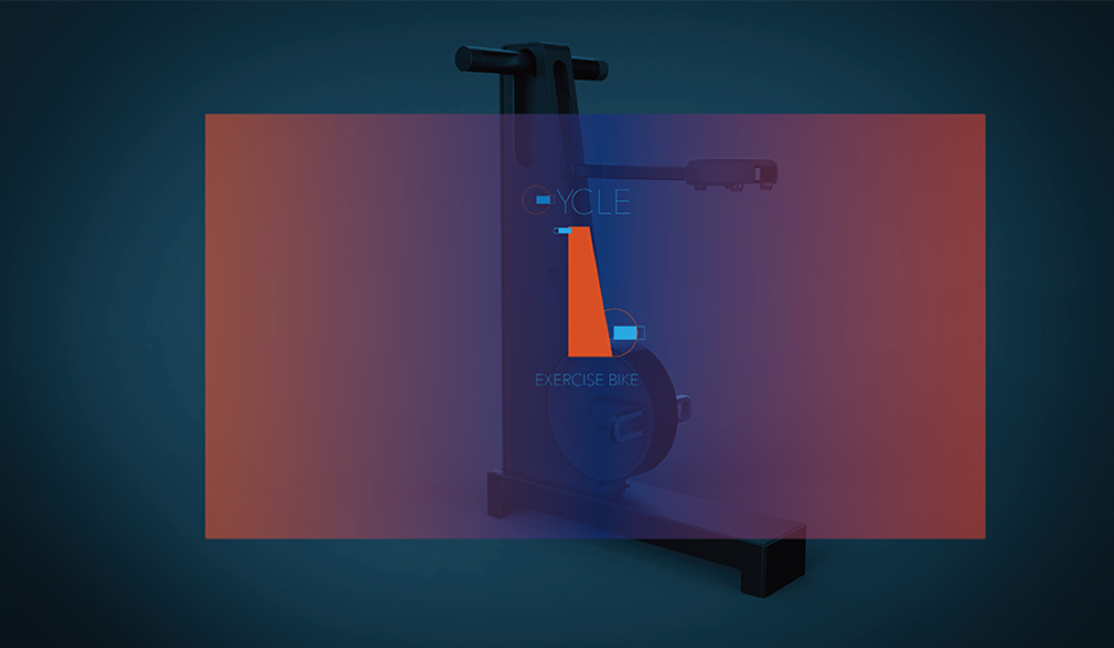 a design for an exercise bike
